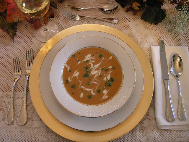 Fat Free Sweet Potato Bisque by Chef Dez