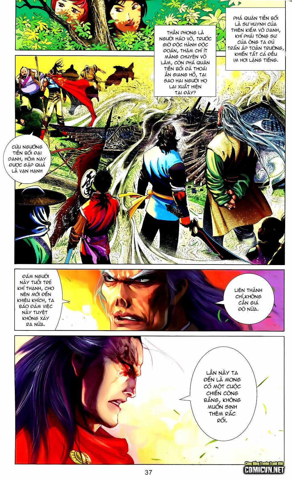 Phong Vân Chap 663 - Trang 37