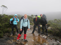 Overland Track - the team