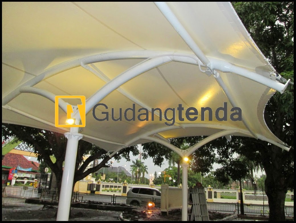 Instalasi Tenda Membran, Aplikator tenda membrane, Pabrik tenda Membrane