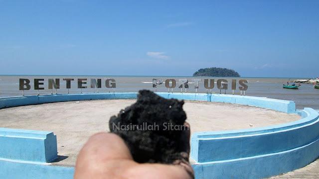 Landmark Pantai Benteng Portugis Jepara