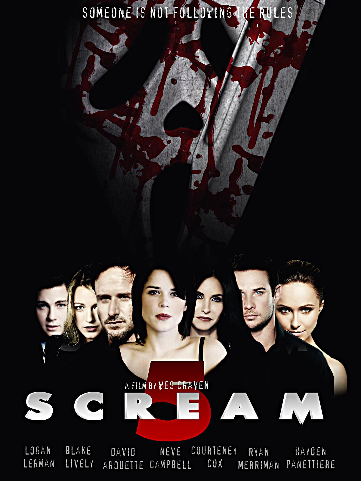 Scream 5 characters