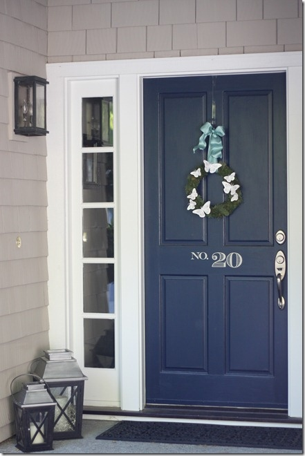 The Lilac Lobster Picking A Front Door Color