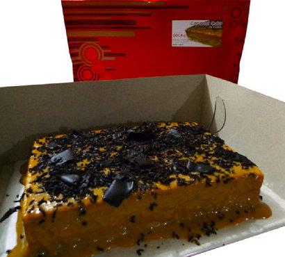 Rodillas Caramel Cake