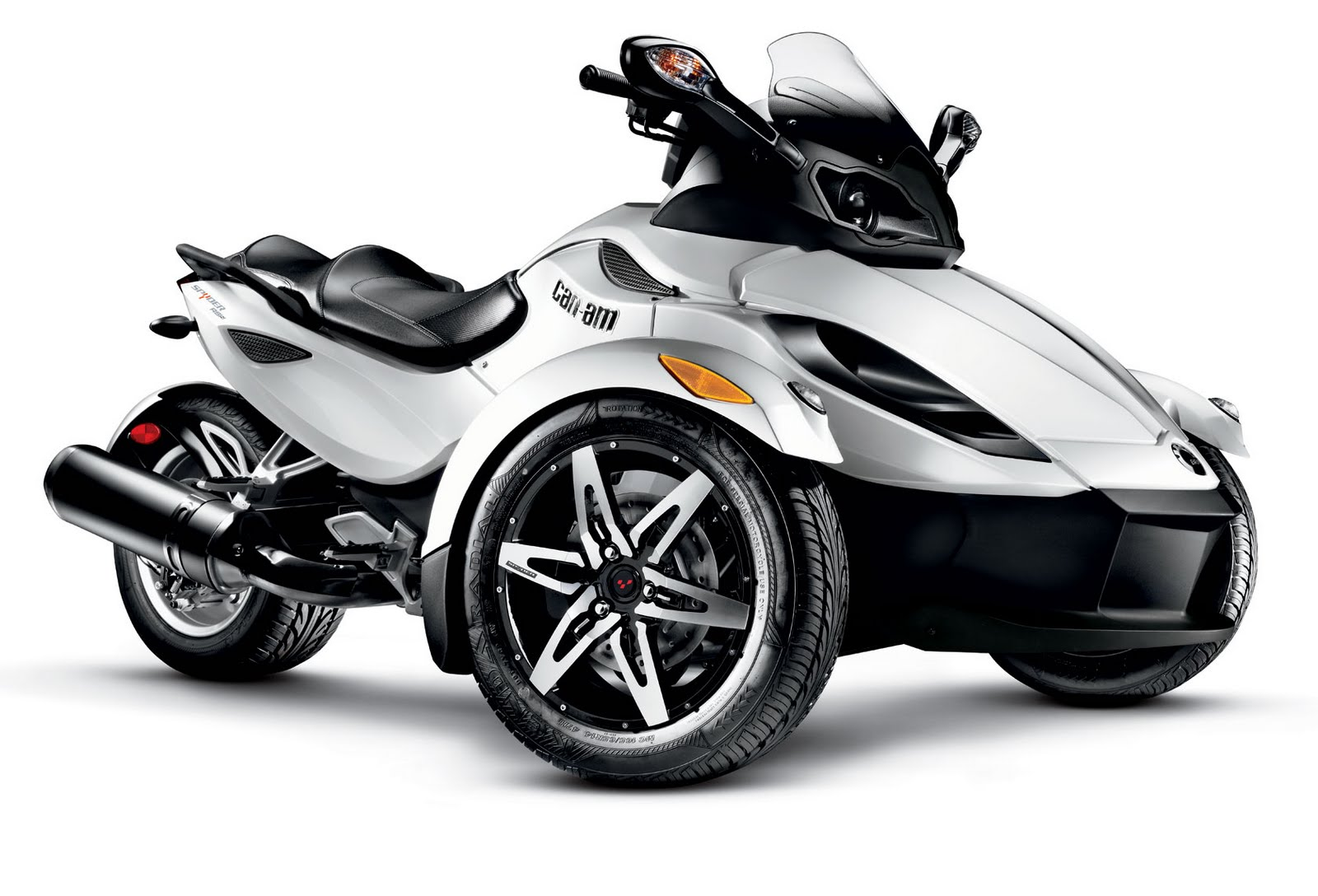 motorcycle pictures can am spyder rs s roadster 2010. Black Bedroom Furniture Sets. Home Design Ideas