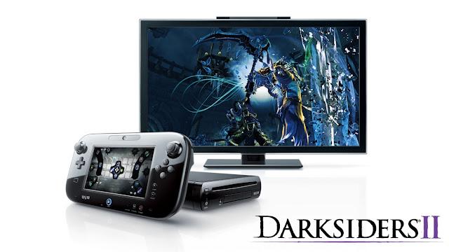 Darksiders II abilities selection screen on Wii U GamePad