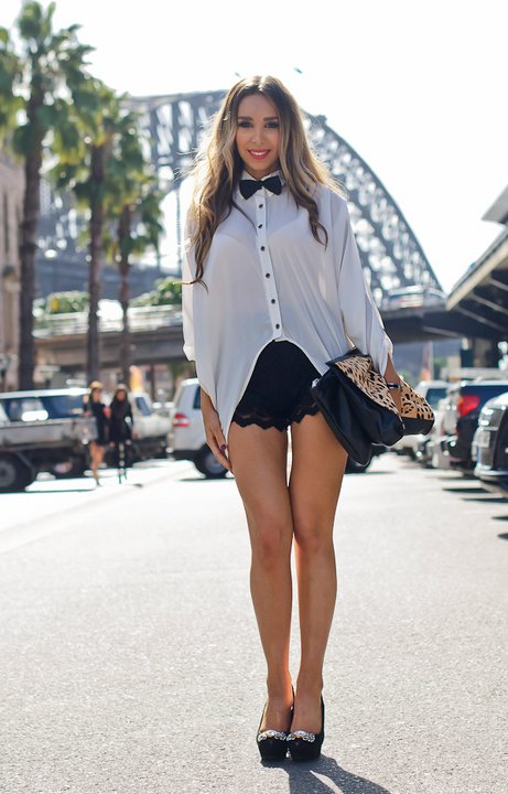 Sydney Fashion Blogger Interview And Photos From Cosmopolitan Australia Celebrity 2014