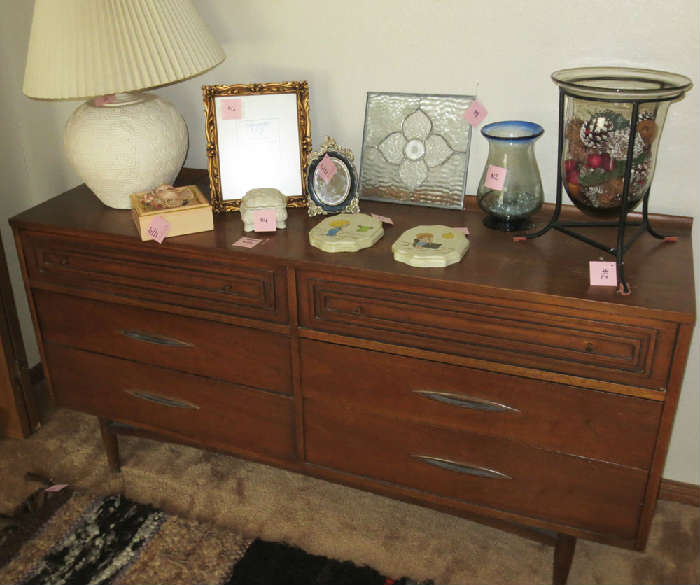 Amazing Broyhill Sculptra Dresser at Austin Estate Sale