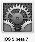 iOS 5 beta 7 released for developers