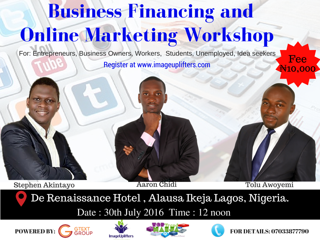 Business Financing and Online Marketing Workshop