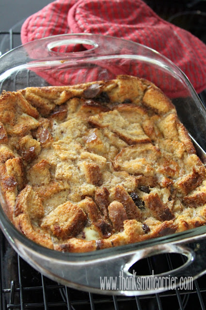 whole wheat bread pudding