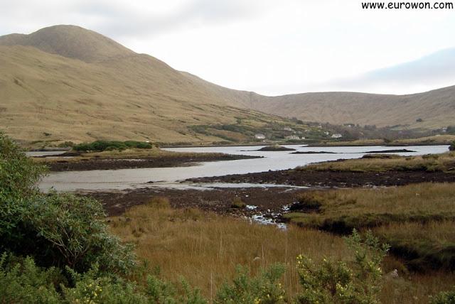 Final del fiordo de Killary