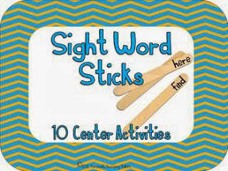 http://www.teacherspayteachers.com/Product/Sight-Word-Stick-Centers-263115