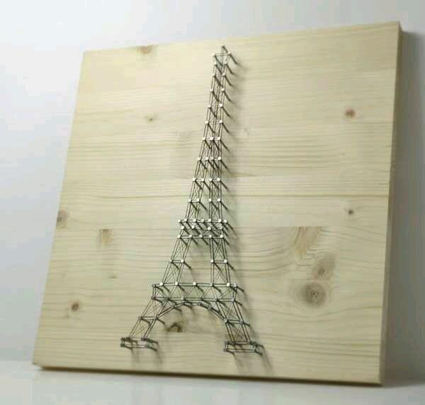 String arts - Manualidades para decorar el hogar ...
