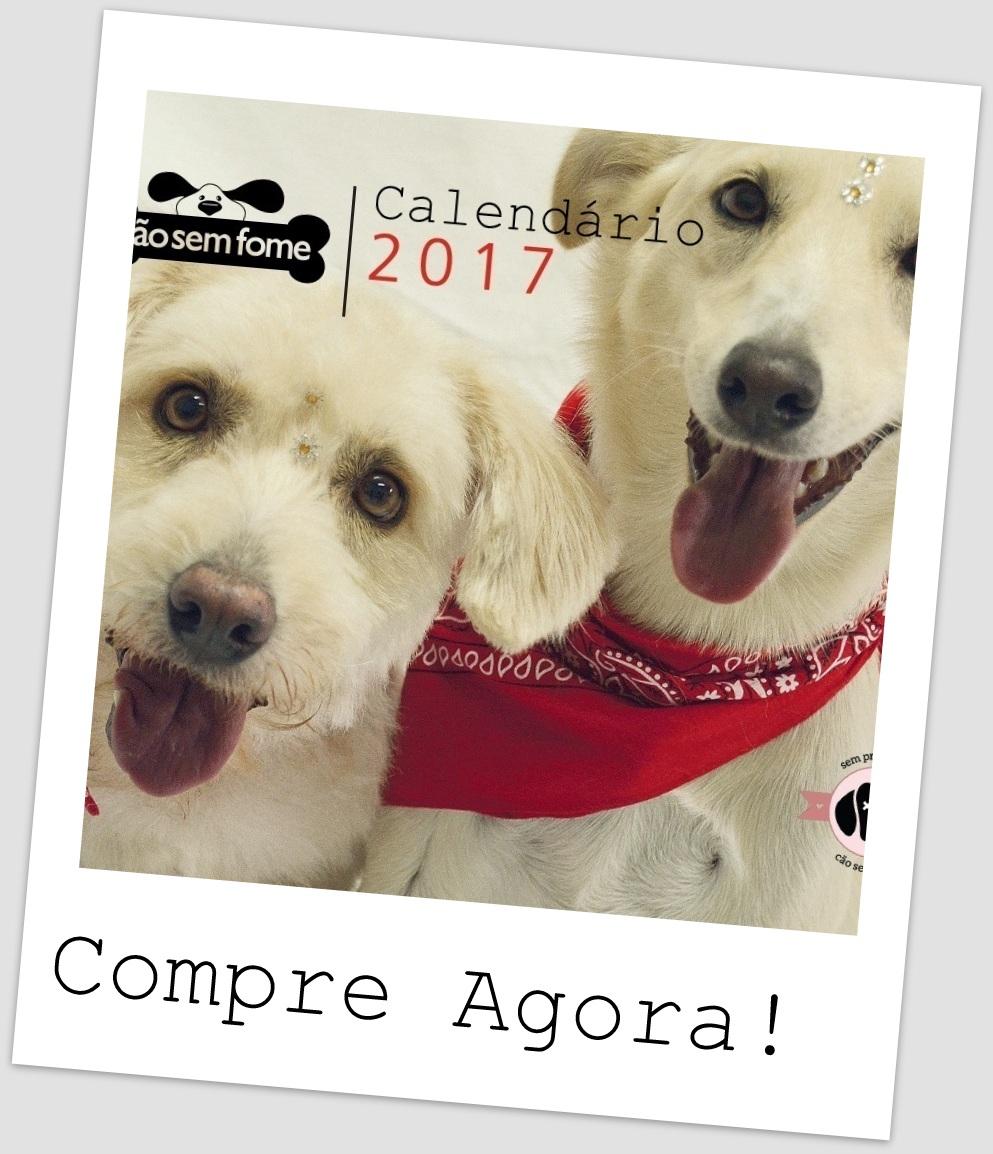 Calendário Cão sem Fome 2017