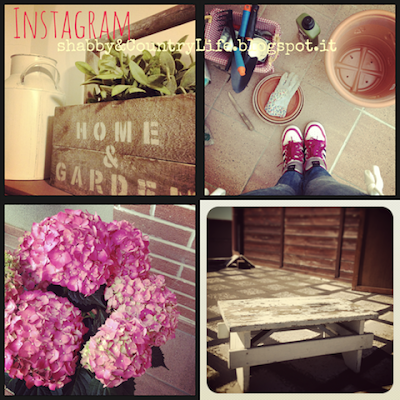 Instagram- Shabby&countrylife.blogspot.it