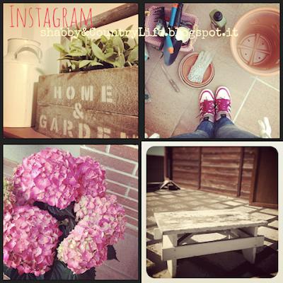 Instagram- Shabby&countrylife.blogspot.it