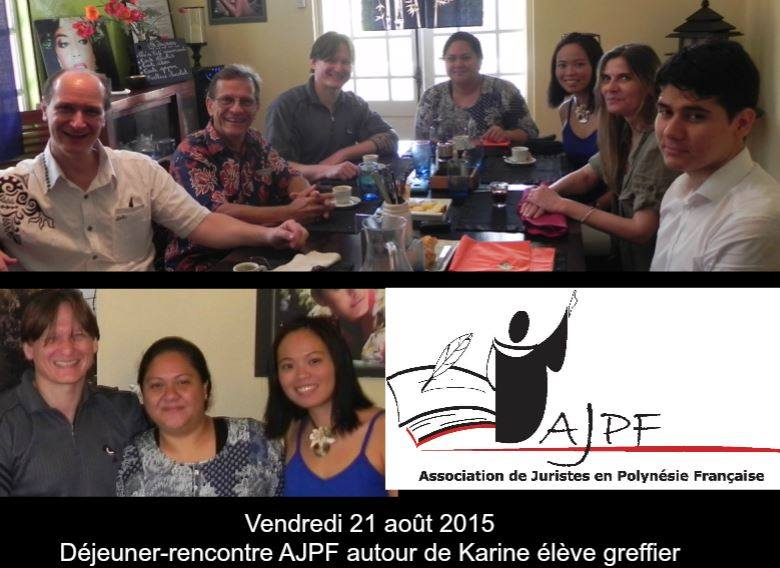 Déjeuner-rencontre 21 août 2015