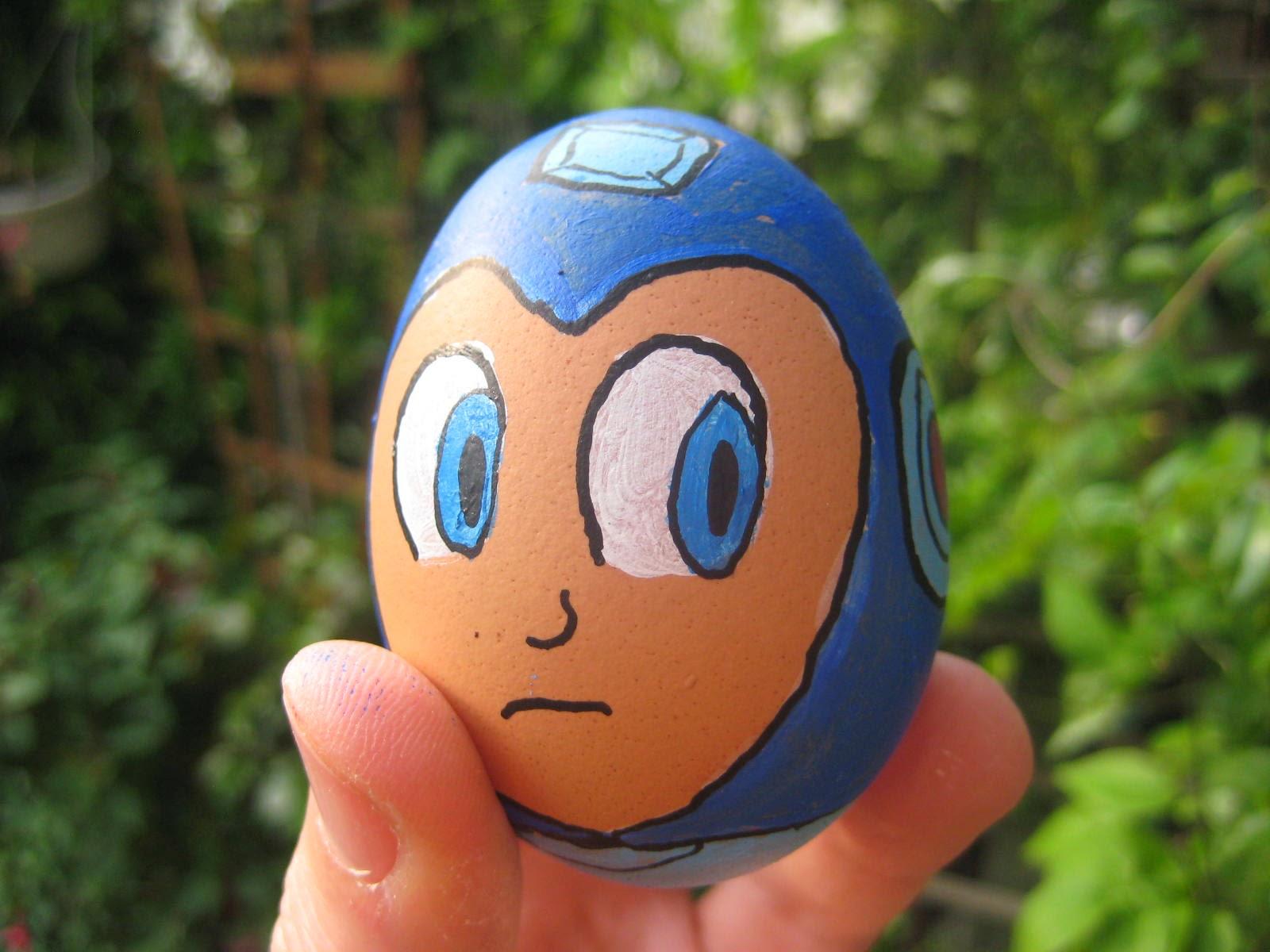 Look what I drawed: Super SMASH Bros! Easter egg decoration