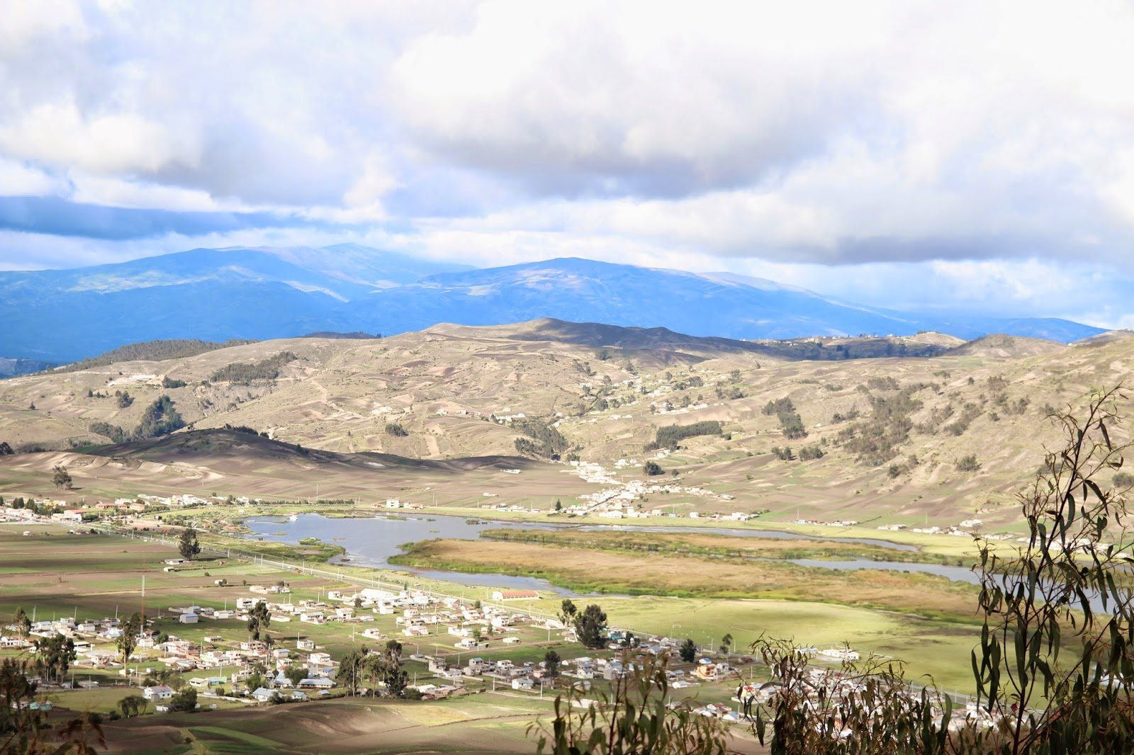 riobamba ecuador lake