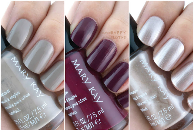 Mary Kay Fall 2015 City Modern Collection Nail Lacquers: Review and Swatches