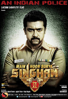 Main Hoon Surya SINGHAM II Hindi Full Movie 2013 Posters and Images