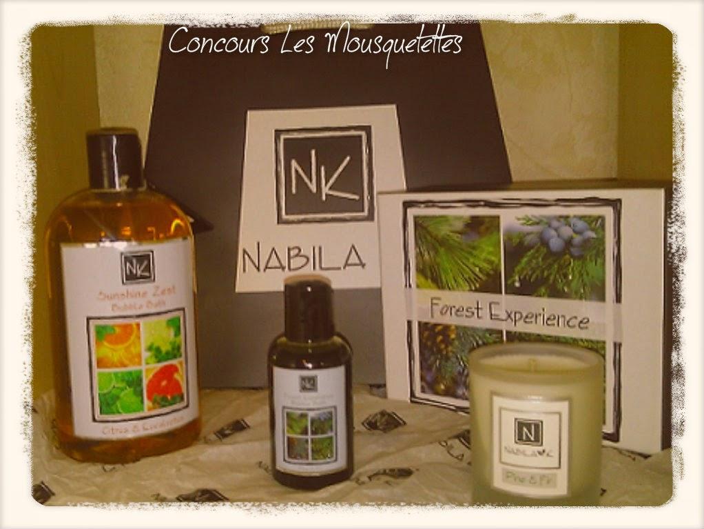 Lot Concours Nabila K - Les Mousquetettes