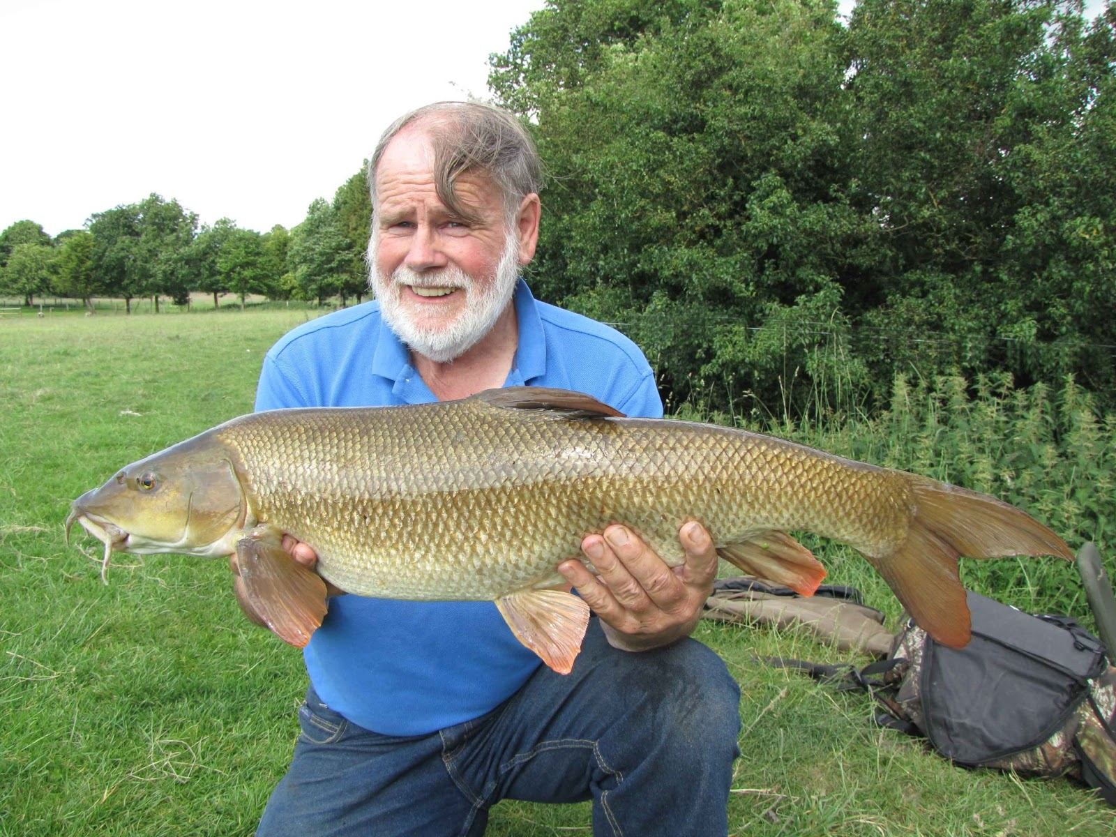 Travelling Man: Barbel days in the sun