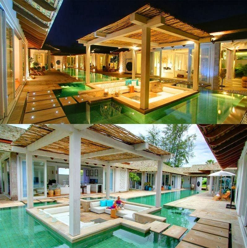 Very cool houses with pools architecture world for Really cool houses