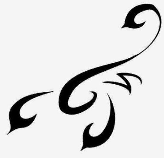 Diseño Tatuaje tribal signo Escorpión 12