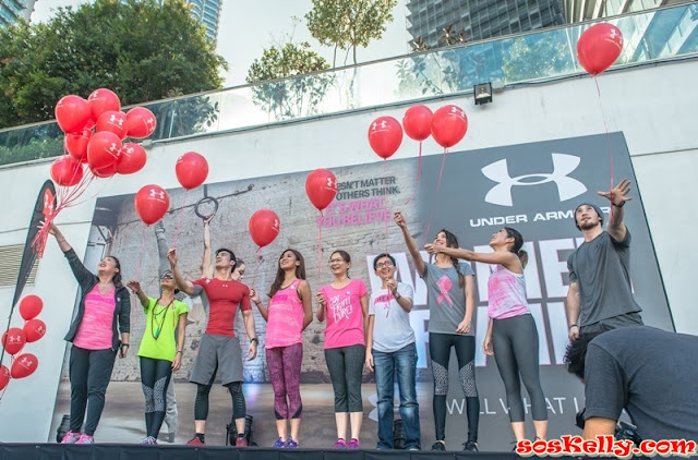 Under Armour Women of Will Support Pink Ribbon, Under Armour, Women of Will, Support Pink Ribbon, Breast Cancer Welfare Association, BCWA, Breast Cancer Awareness, Pink October, Pink Ribbon, Pink October, Women of Today, Women of Tomorrow