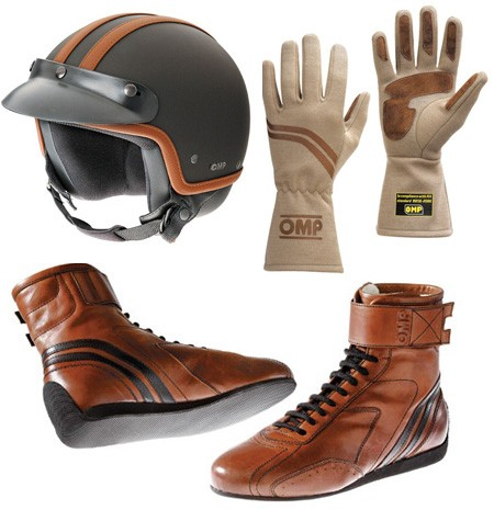 OMP Racing Vintage -Inspired Steve McQueen Style - Motorcycle Riding Gear Collection. High-end Italian racing accessories company OMP Racing has introduced an amazing new collection of vintage-inspired gear