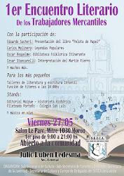 Viernes 27 de Mayo, charla sobre libros de Historieta Histórica