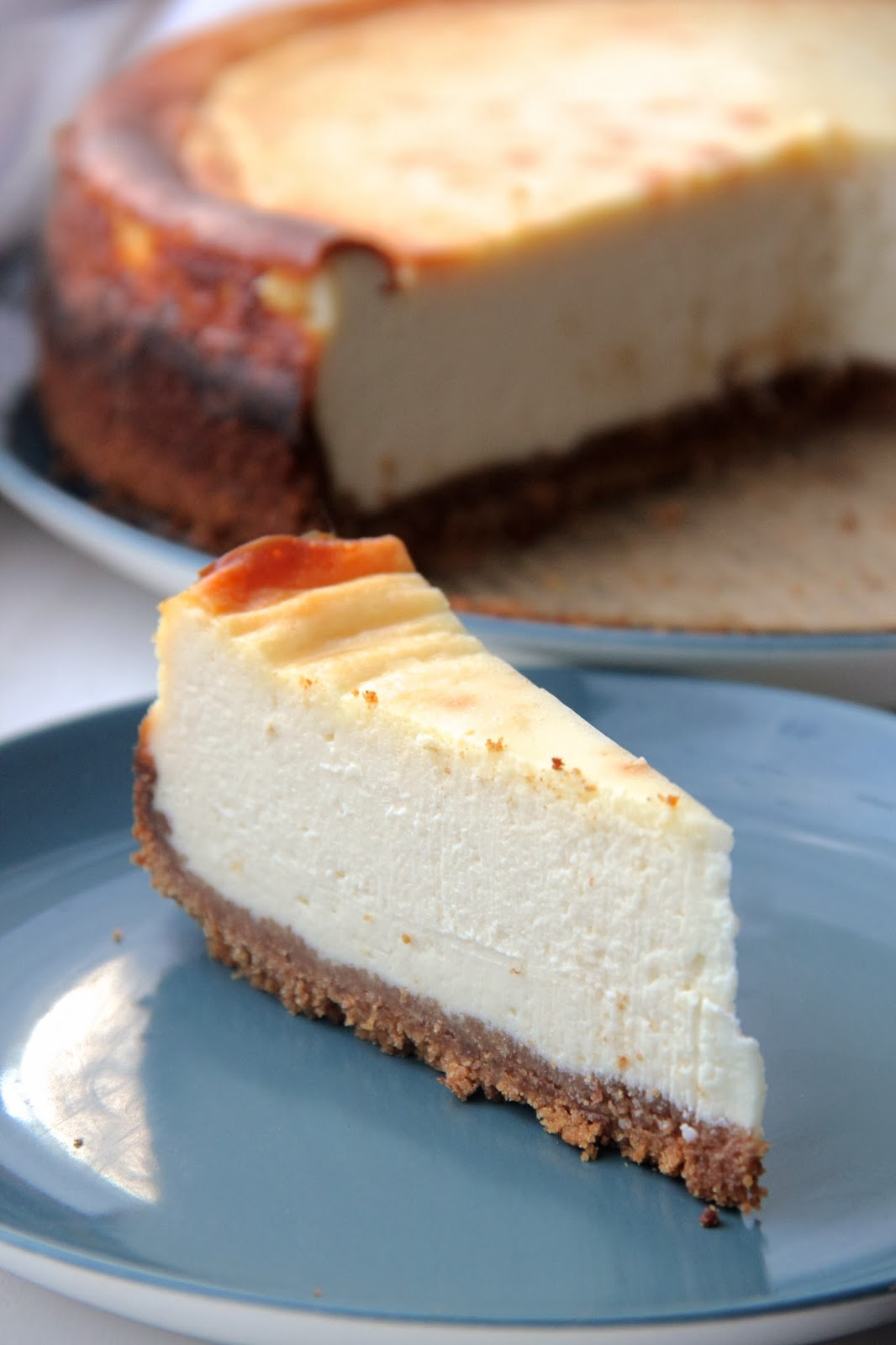 glutton in London: New York Style Cheesecake