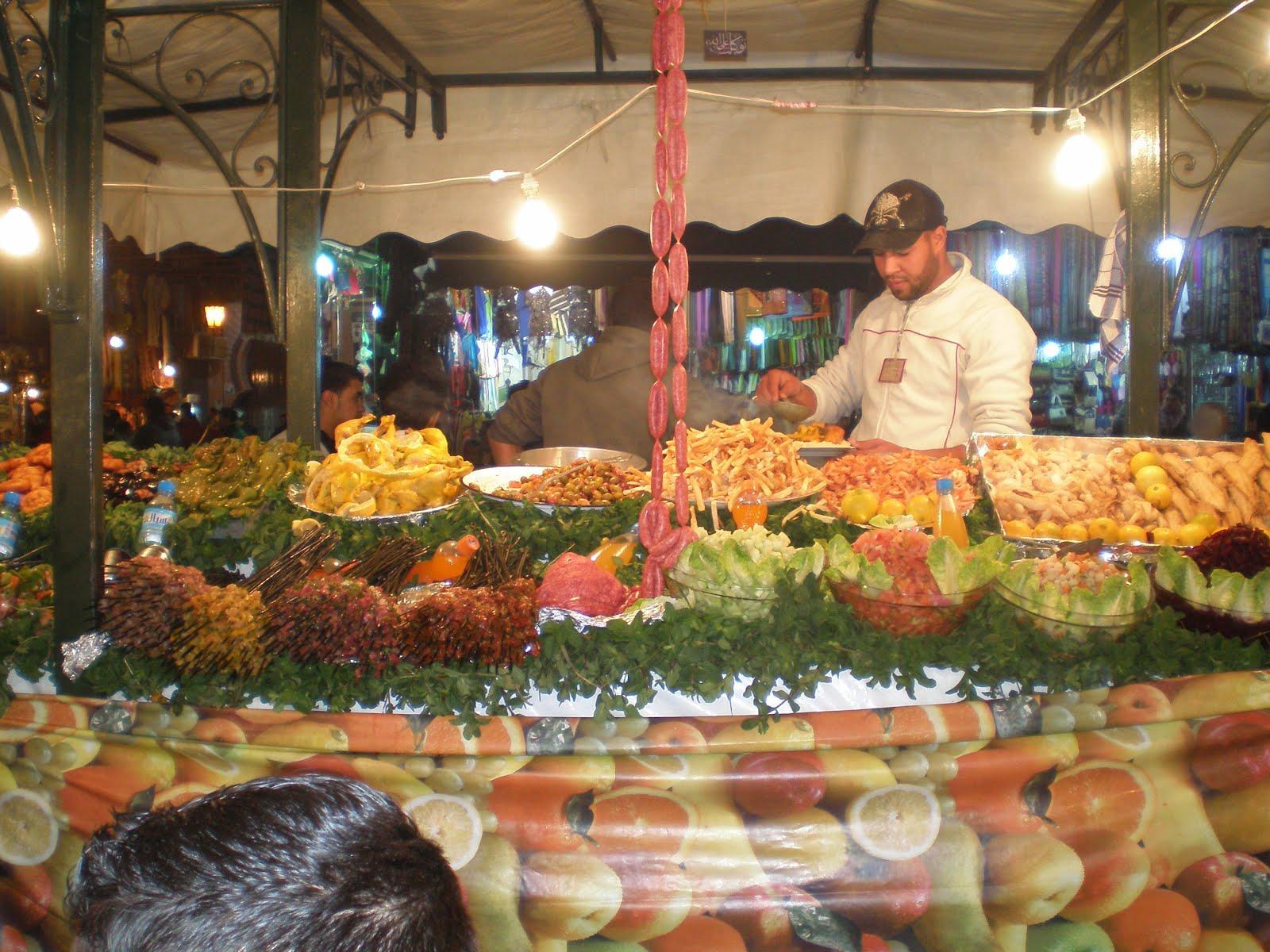 Marrakech Place Jemaa El Fna Restaurants