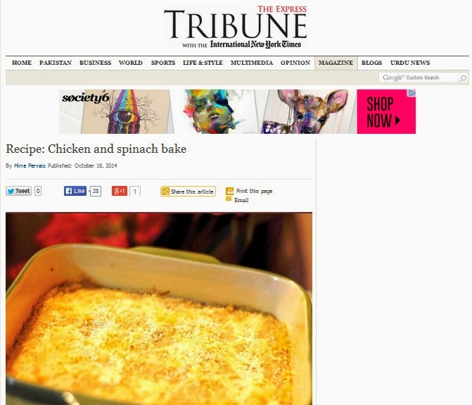 Chicken-Spinach-Bake-Express-Tribune-Ticklethosetastebuds