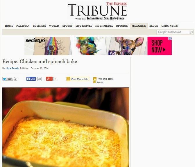 Chicken-Spinach-Bake-Express-Tribune-Ticklethosetastebuds