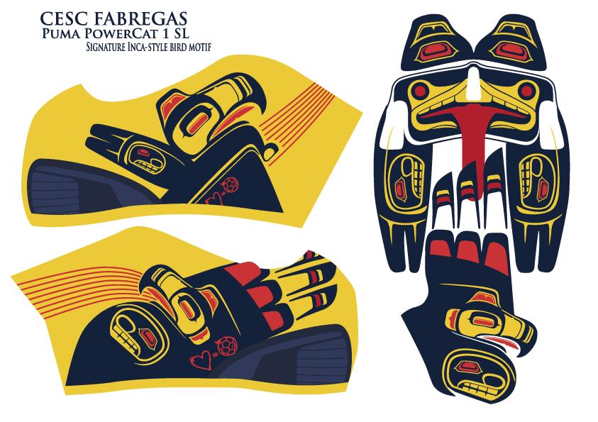 football teams shirt and kits fan fabregas puma powercat 1 sl signature boots. Black Bedroom Furniture Sets. Home Design Ideas