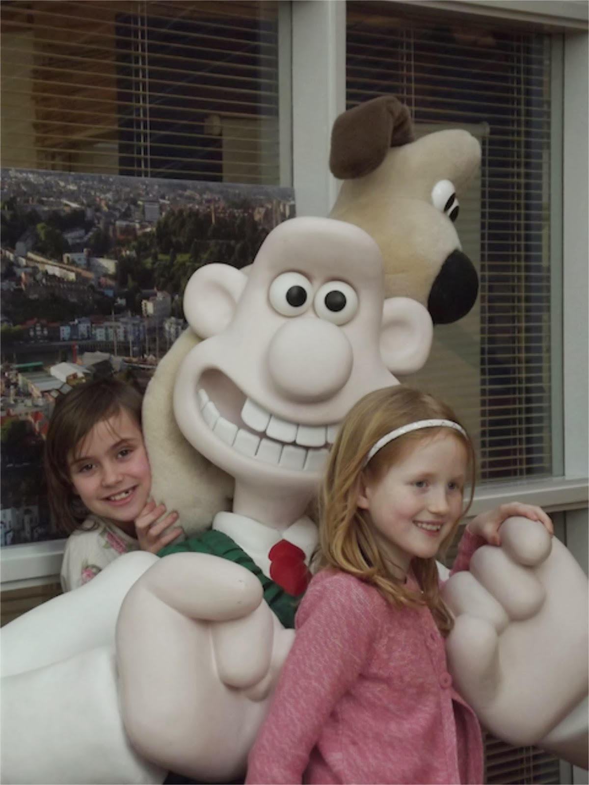 meeting Wallace and Grommit