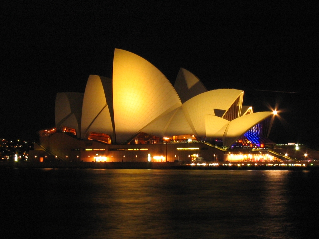 World visits sydney opera house popular destinations in for Sydney opera housse
