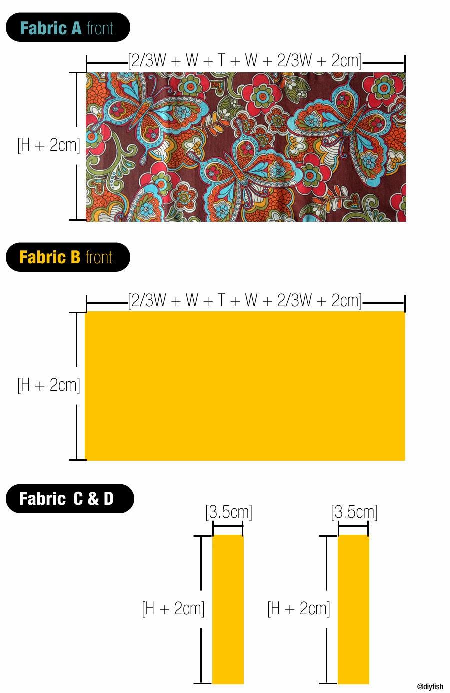 Diy Adjustable Book Cover ~ Tutorial no adjustable fabric book cover d i y
