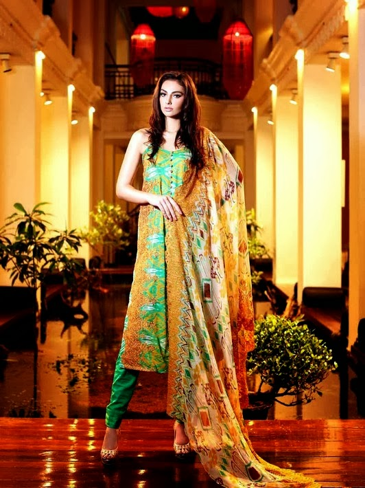 New Gul Ahmed Lawn Collection 2014