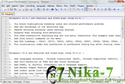Notepad++ 6.8.7 Final