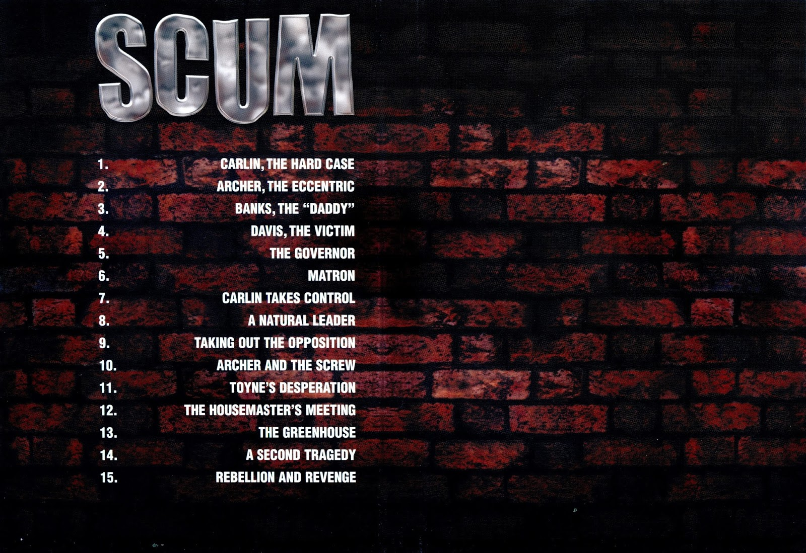 Dvd and vhs covers scum dvd cover uncut version for Inside unrated