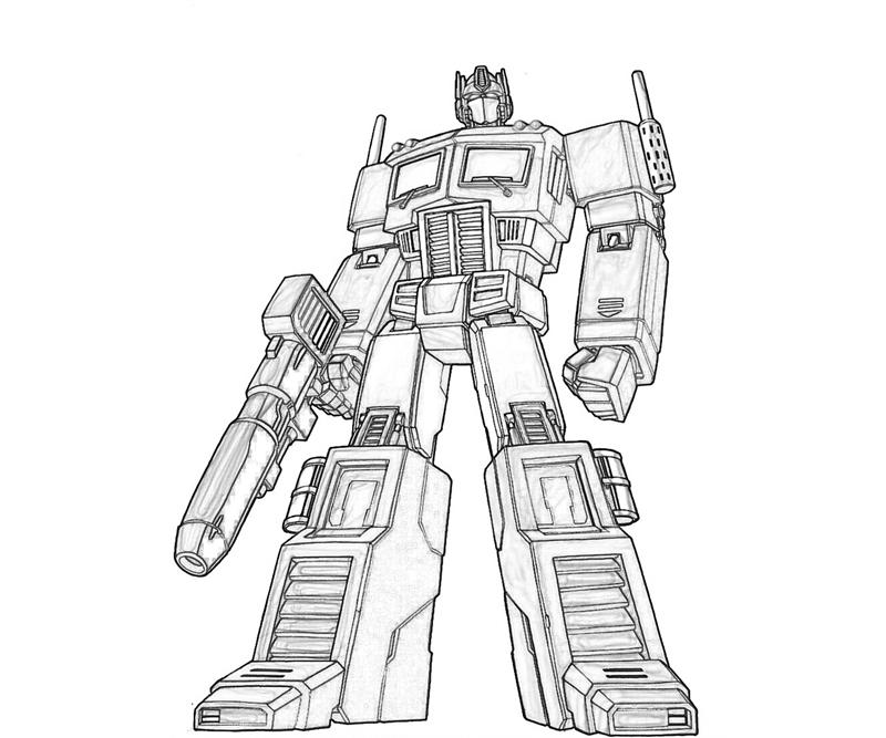 coloring pages optimus prime - photo#11