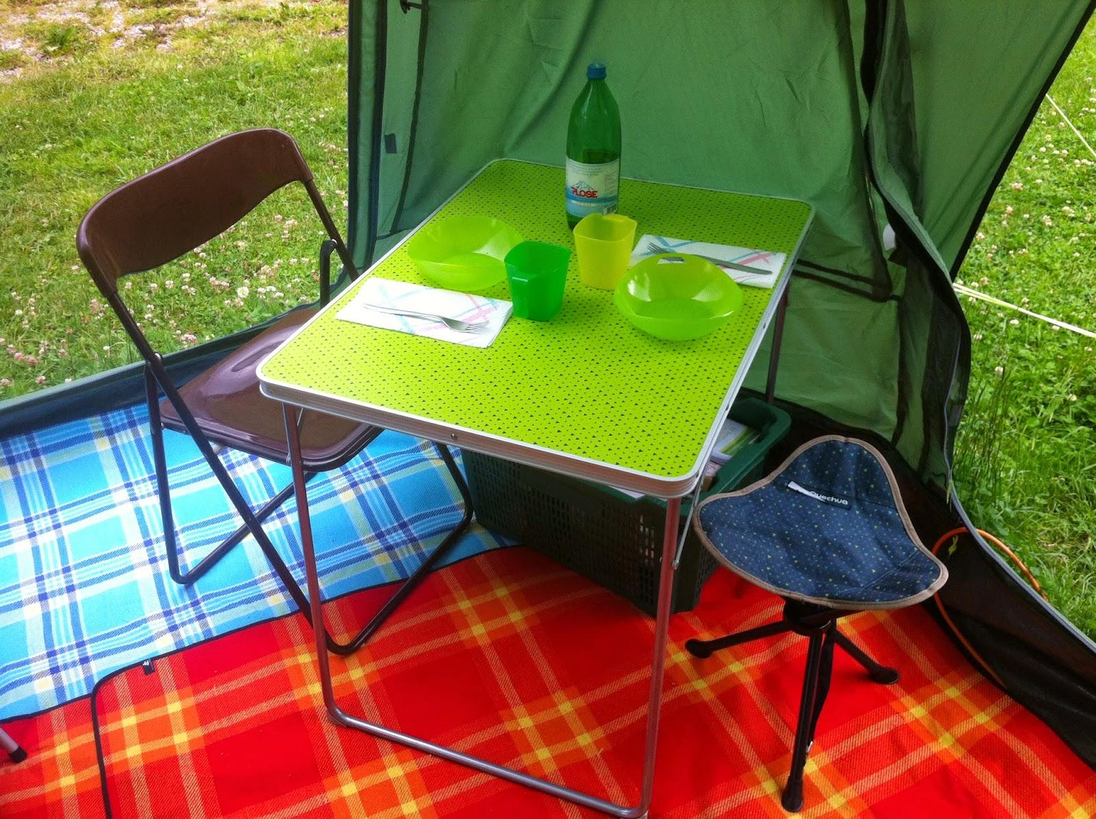 Vado a vivere in tenda attrezzatura da campeggio lo sgabello