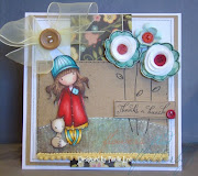 Paula has created this stunning card with the Gorgeous Girls image Foxy.