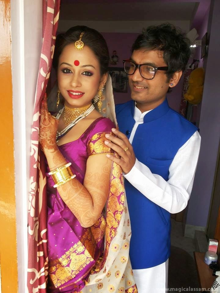 actress jupitora-bhuyan-marriage-photo