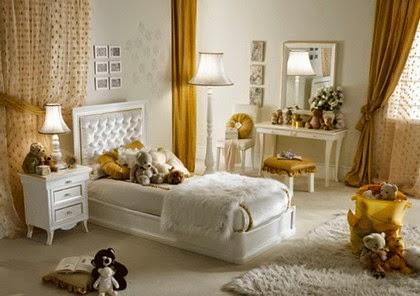 Desain kamar tema teddy bear untuk anak
