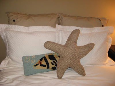 Starfish Pillow - Ocean, Under the Sea Theme, Ocean Theme